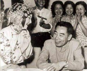 Premier ZHOU Enlai besuchte das Han-Theater