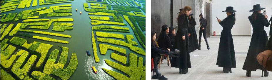 兴化油菜花田 柳军 2014 江苏 兴化 北京798艺术区的中老年模特队 徐大庆 2019 北京
