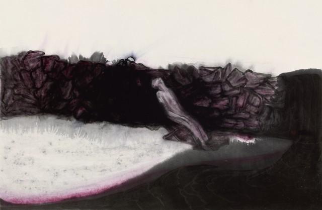 炻,2016,纸本水墨,68 × 45cm